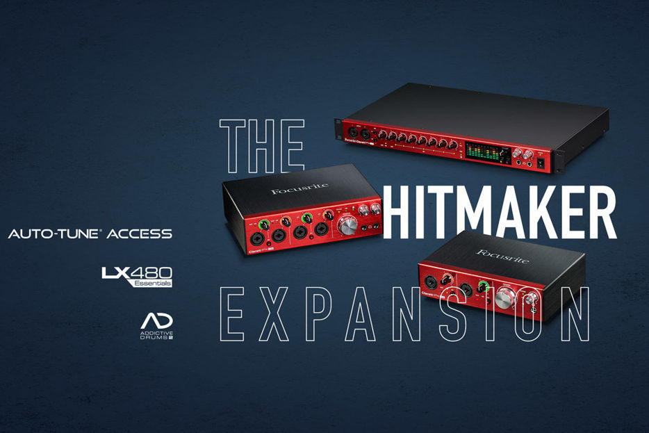Clarett Hitmaker Expansion
